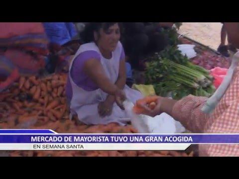 MERCADO DE MAYORISTAS DE ILLANYA TUVO UNA GRAN ACOGIDA EN SEMANA SANTA