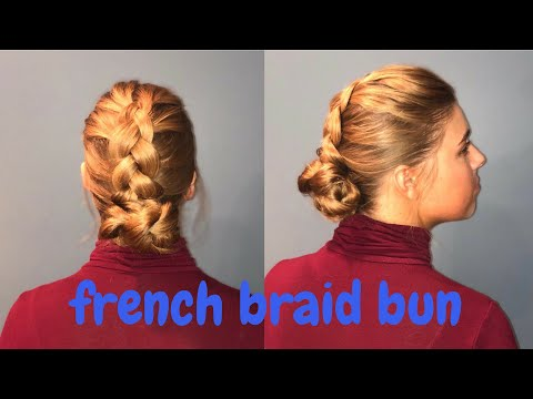 Braid hairstyles - French Braid Updo  Apostolic Hairstyles