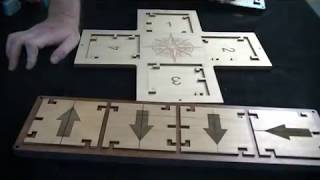 Directional Lock Puzzle Escape Room Puzzle and Prop