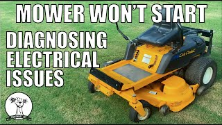 5. DIY: Mower Will Not Crank - Safety Switch Diagnosis and Repair - Cub Cadet RTZ ZTR