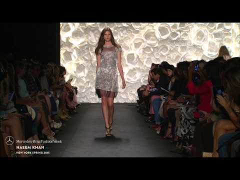 Naeem Khan: Mercedes-benz Fashion Week S/s15 Collections