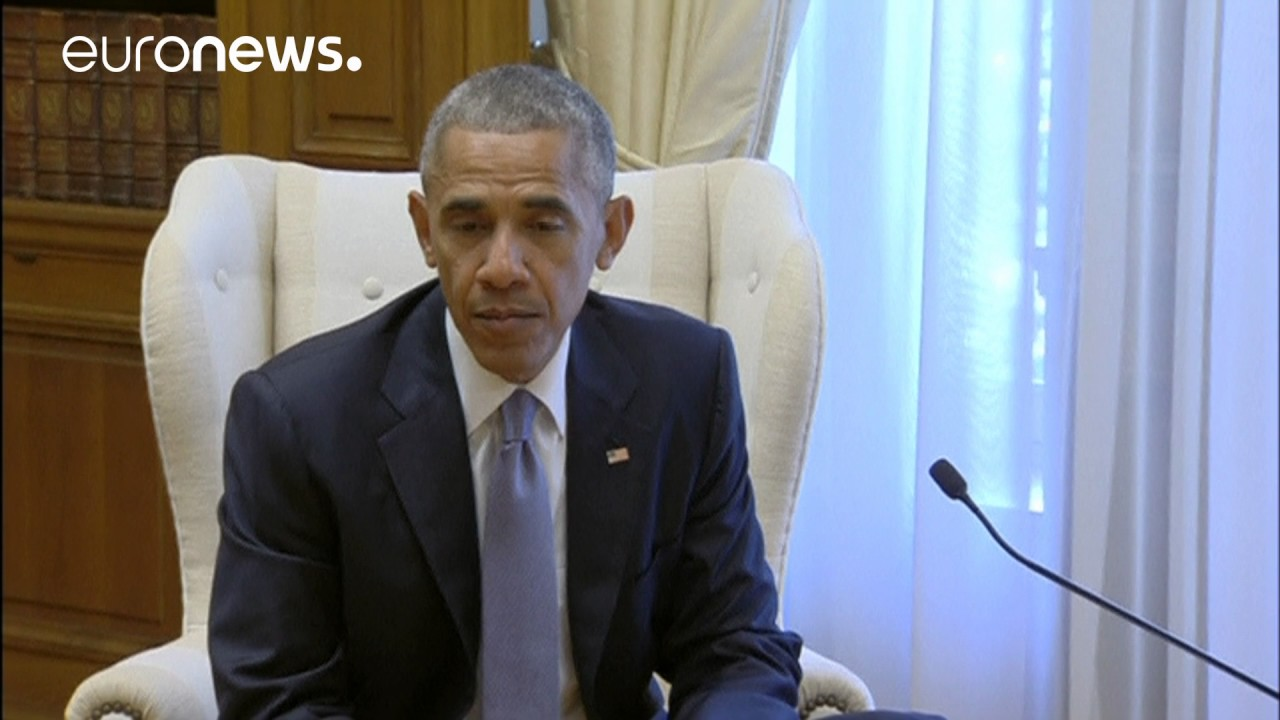 Μεγαρό Μαξίμου: Συνάντηση Αλέξη Τσίπρα και Μπάρακ Ομπάμα