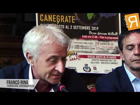 Franco Rina: Conferenza stampa Cinemadamare a Canegrate 2019 | Palazzo Isimbardi [Riplive.it]