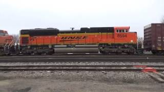 East Dubuque (IL) United States  city photo : After Christmas Railfanning BNSF in East Dubuque, IL