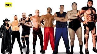 Video Top 15 Tallest Wrestlers of All Time - Giant Wrestlers WWE/WWF [HD] MP3, 3GP, MP4, WEBM, AVI, FLV Oktober 2017