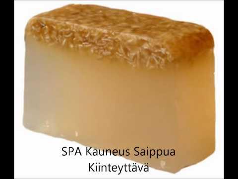KÄSINTEHDYT SAIPPUAT: Spa kauneus saippuat