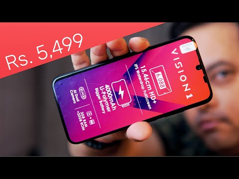 Itel Vision 1 unboxing - Best Budget Friendly Smartphone for Rs. 5,499 ⚡🔥
