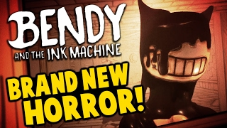 Bendy and the Ink Machine - NEW HORROR GAME! Disney Gone Wrong! - Bendy and the Ink Machine Gameplay