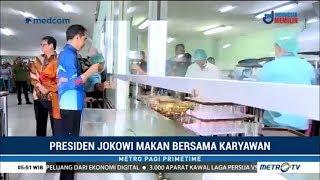 Download Video Jokowi Makan Bersama Karyawan Pabrik Motor MP3 3GP MP4