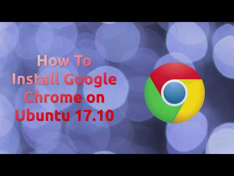 In this short tutorial we look at how to install Google Chrome on Ubuntu 17.10. Enjoy! Site: https://www.google.com/chrome/browser/desktop/index.html ...