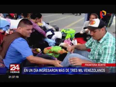 Superintendente de Migraciones se pronuncia sobre situación de venezolanos en Perú