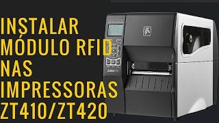 Instalar RFID ZT410