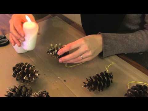 Gartentipp: Christbaumschmuck selbst gemacht
