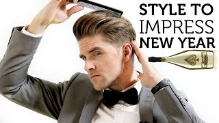 Men's Hair Inspiration For New Year 2015  Style To Impress   Simple How To Guide