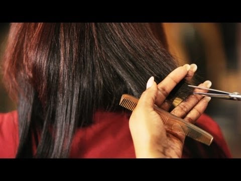 How to Cut Hair Tracks for Quick Weave | Black Hairstyles