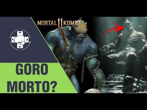 MORTAL KOMBAT 11: GORO MORTO EM OUTRA LINHA DO TEMPO E... MOLOCH?