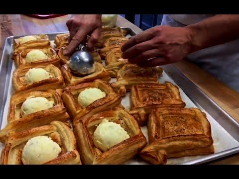 Пекарня синклера. мини - пекарня на колесах. мобильная пекарня.