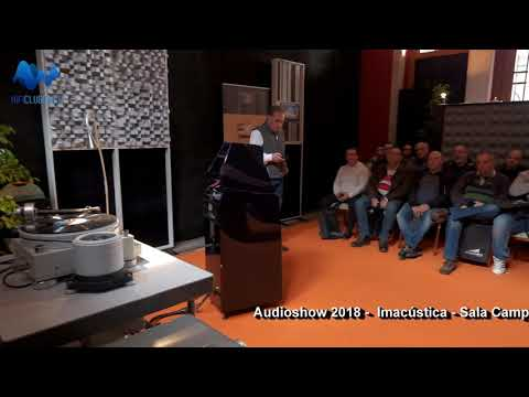 Audioshow2018 - Imacustica - Wilson Audio Alexia 2 -O-Zone percussion group