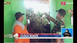 Video Curah Hujan Tinggi, Longsor Timbun 3 Rumah Warga di Pangandaran - BIS 14/11 MP3, 3GP, MP4, WEBM, AVI, FLV November 2018