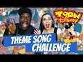 DISNEY Theme Songs CHALLENGE w/Madi2theMax  🎶 try not to sing along 🎶 Stewdippin
