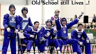 Taekwondo Teams competition Highlights II HD Old school still Lives