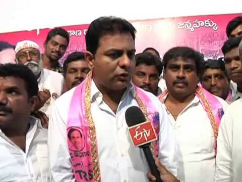TRS Leader KTR Interview