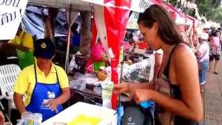 Chanthaburi Thailand  city photos : Chanthaburi Thailand - Durian festival - FREE fruit :)