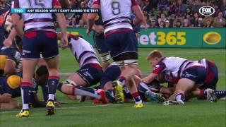 Melbourne Rebels v Brumbies Rd.12 2016 | Super Rugby Video Highlights