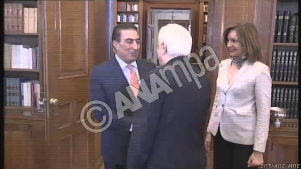 Συνάντηση Παυλόπουλου με τον πρόεδρο της βουλής της Ιορδανίας