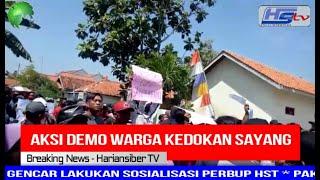 Aksi Demo Warga Kedokan Sayang Kab,Tegal Menuntut Keadilan (HARIANSIBER TV)