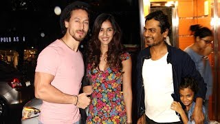 Watch special screening of the film Munna Michae attended by Tiger Shroff with sister Krishna Shroff and alleged Girlfriend Disha Patani along with Nidhi Agarwal & Nawazuddin Siddiqui.  For More Updates:Subscribe to: https://www.youtube.com/user/movietalkiesLike us on: https://www.facebook.com/MovieTalkiesFollow us on: https://twitter.com/MovieTalkiesFollow us on: https://www.instagram.com/movietalkies/