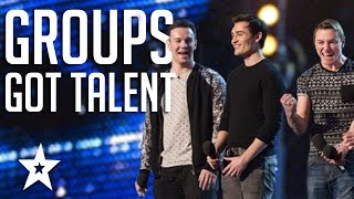 Video TOP 6 Vocal Groups From Americas Got Talent & Britain's Got Talent MP3, 3GP, MP4, WEBM, AVI, FLV Juni 2018