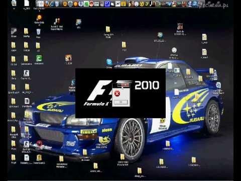 Gra F1 2010: problem z uruchomieniem