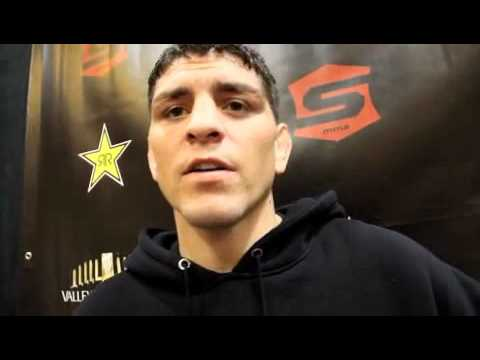 OneOnOne With Nick Diaz Says He Fights For Money