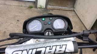 8. 2006 kawasaki klx250 running