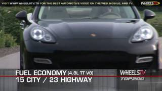 2010 Porsche Panamera - Top 200 Video Test Drive