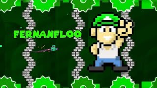MI PROPIO NIVEL !! - Geometry Dash 2.0 | Fernanfloo