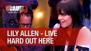 Lily Allen - Hard Out Here - Live - C'Cauet Sur NRJ