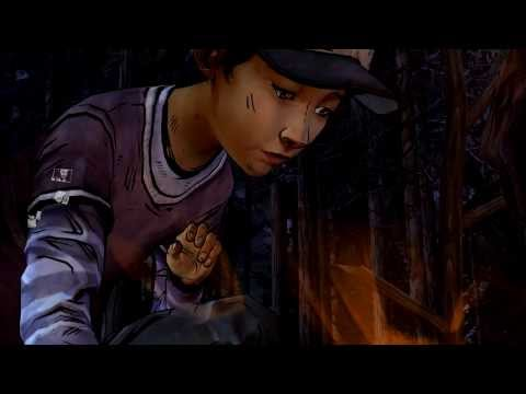 Burning the drawing and picture outcomes - The Walking Dead Season 2 ep 1