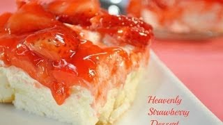 Heavenly Strawberry Dessert Recipe | RadaCutlery.com
