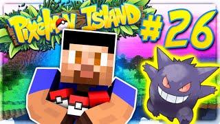 GENGAR JOINS THE TEAM! - PIXELMON ISLAND SMP #26 (Pokemon Go Minecraft Mod)