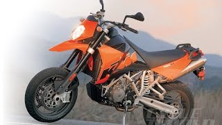 7. KTM 950 SUPERMOTO The Alien Has Landed, And It's Ready To Shred