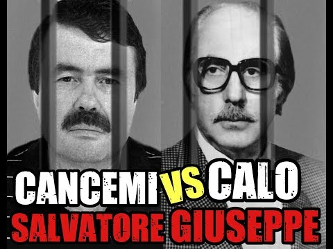 Giuseppe Calò vs Salvatore Cancemi(Confronto)