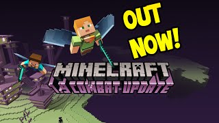 Minecraft 1.9 Combat Update! - OUT NOW! / All Features