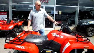 8. The Arctic Cat 450 core