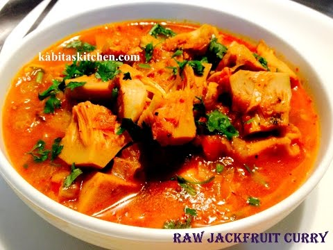 Raw Jack Fruit Curry Recipe-Echorer Dalna- Kathal ki sabzi-Easy and Authentic Jackfruit Curry