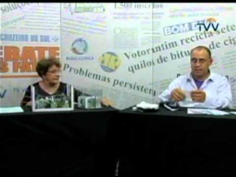Debate dos Fatos 25-05-12 TV Votorantim Ana Criguer