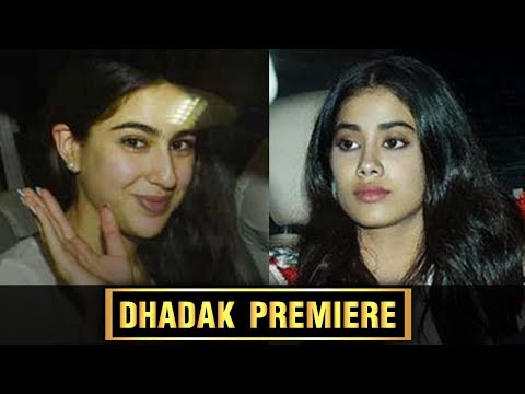 Dhadak Screening | Sara Ali Khan Watches Dear Frie