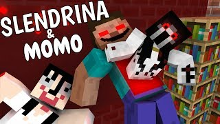 Video Monster School: SLENDRINA & MOMO - Minecraft Animation MP3, 3GP, MP4, WEBM, AVI, FLV Oktober 2018