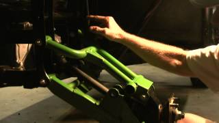10. 2014 Kawasaki Teryx T2 Sticking suspension